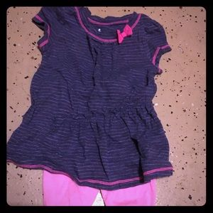 Other - Girls summer tunic/Capri set